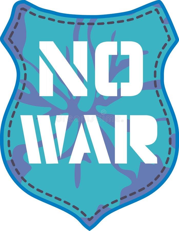 Nenhuma guerra ilustração royalty free
