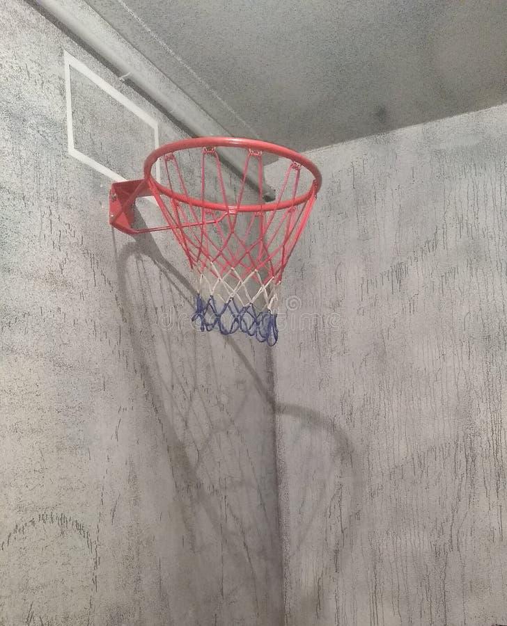 Nenhuma sala para o basquetebol foto de stock