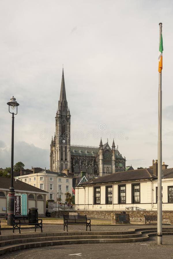 Cathedral of Cobh, South coast of Ireland stock photos