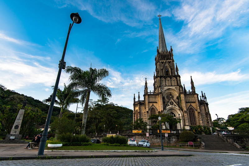 Neo gotyka stylu katedra zdjęcia stock