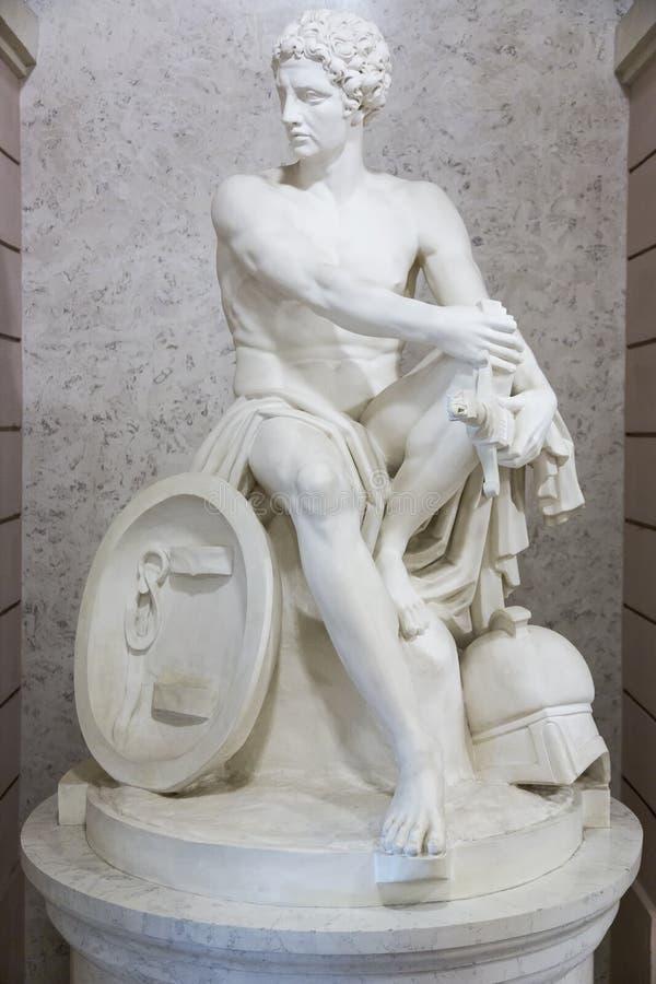 Neo klassiek beeldhouwwerk royalty-vrije stock afbeeldingen
