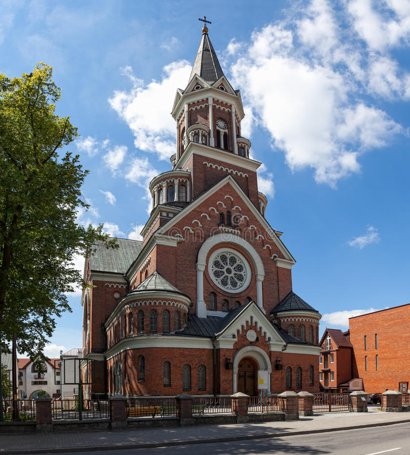 Neo-Romanesque-style Church Royalty Free Stock Photography