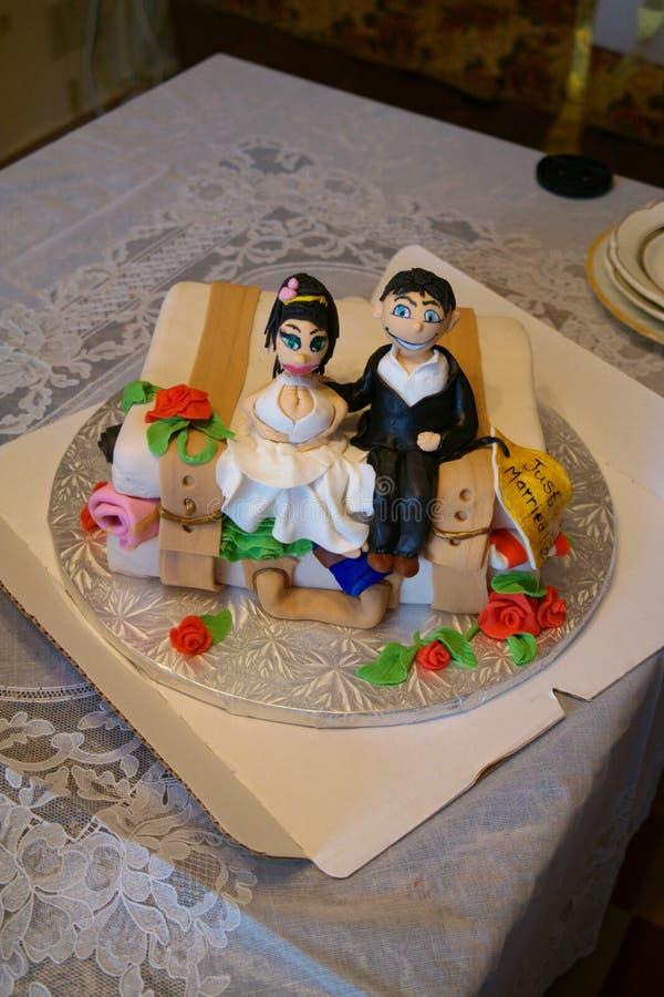 Neo-sposato fotografia stock libera da diritti