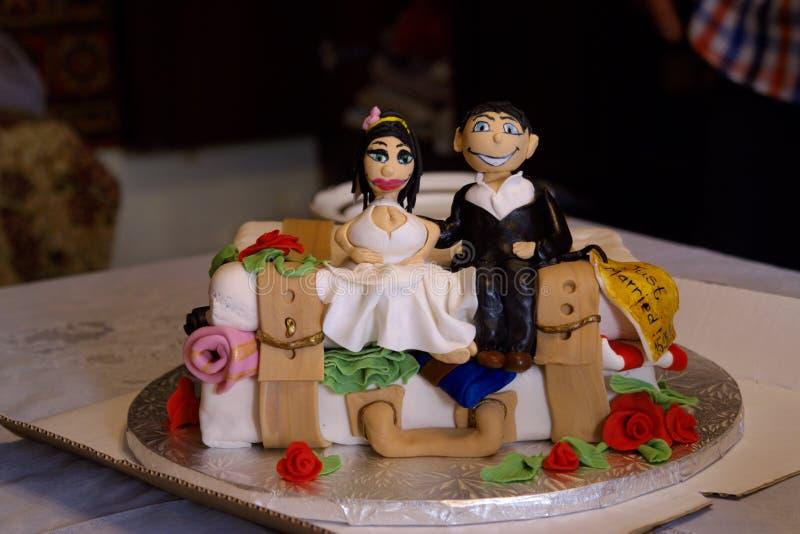 Neo-sposato fotografia stock
