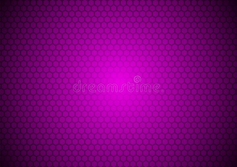 Neo Violet Japanese Futuristic Dark Purple Techno Digital Oriental Ornamental Pattern Texture Background Illustration Wallpaper stock illustration
