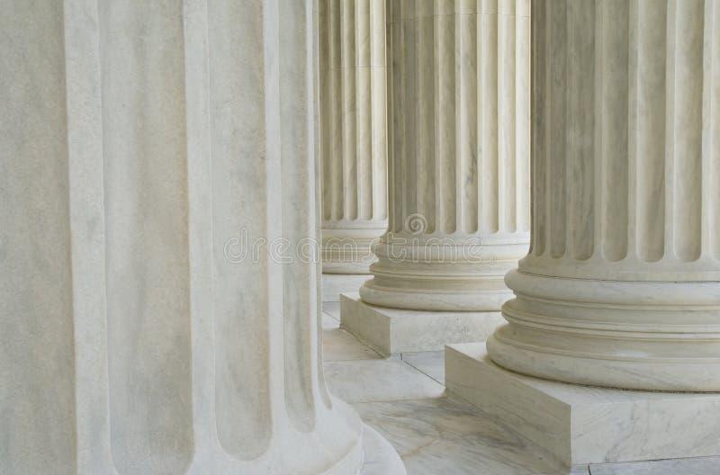 neoclassic kolonner arkivfoto