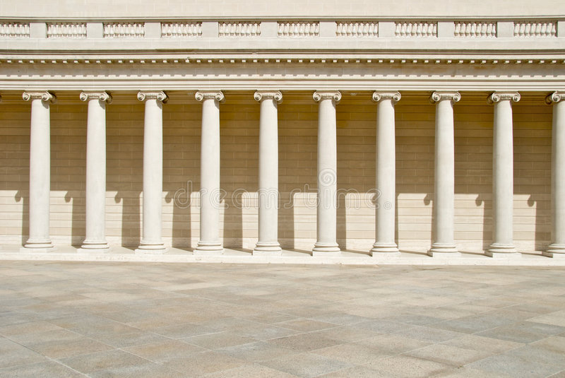 Download Neoclassical Columns stock photo. Image of colonade, museum - 5424402