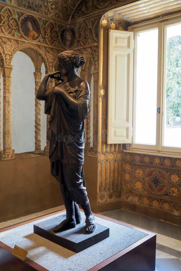 Neoclassical slott av villan Torlonia i Rome, Italien fotografering för bildbyråer