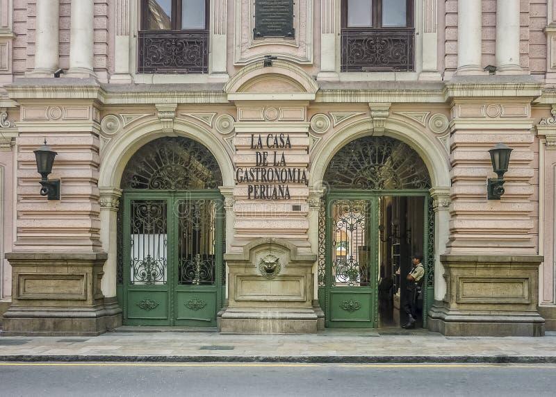 Neoclassical Style Building Facade stock photo