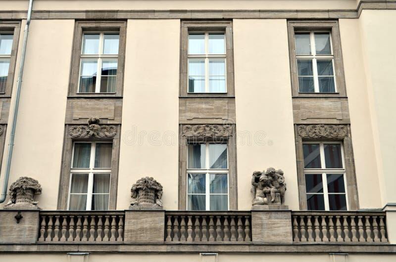 Neoclassicism facade in berlin stock photos