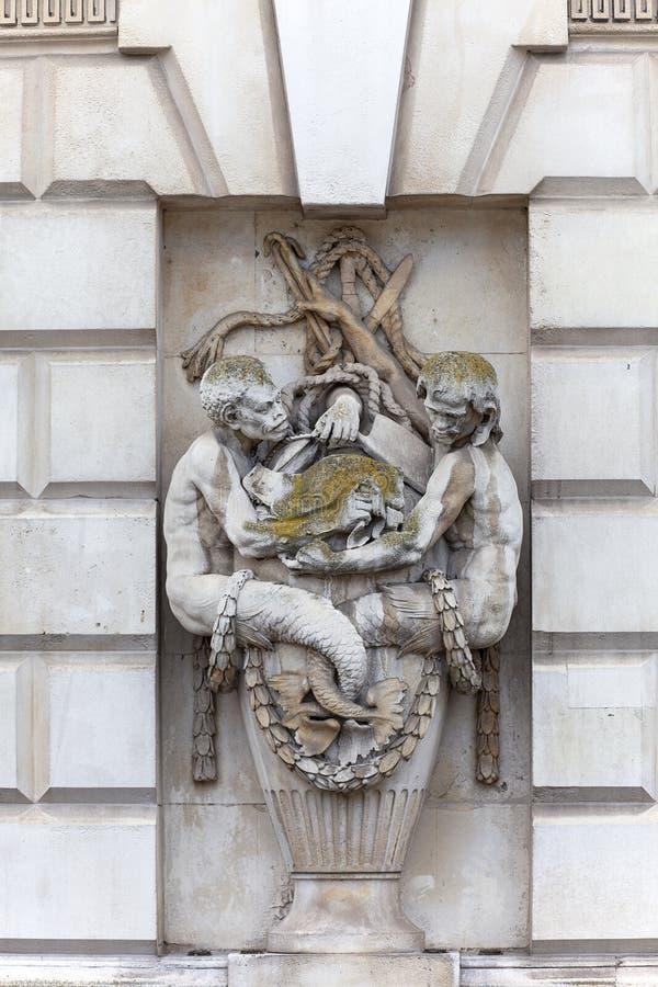 Neoklasyczny buduje Somerset dom w gromadzkim Covent ogródzie, Londyn, Zjednoczone Królestwo obraz royalty free