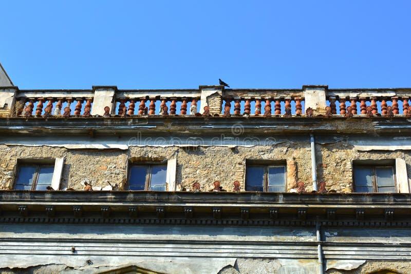 Neoklasyczny budynek fotografia stock