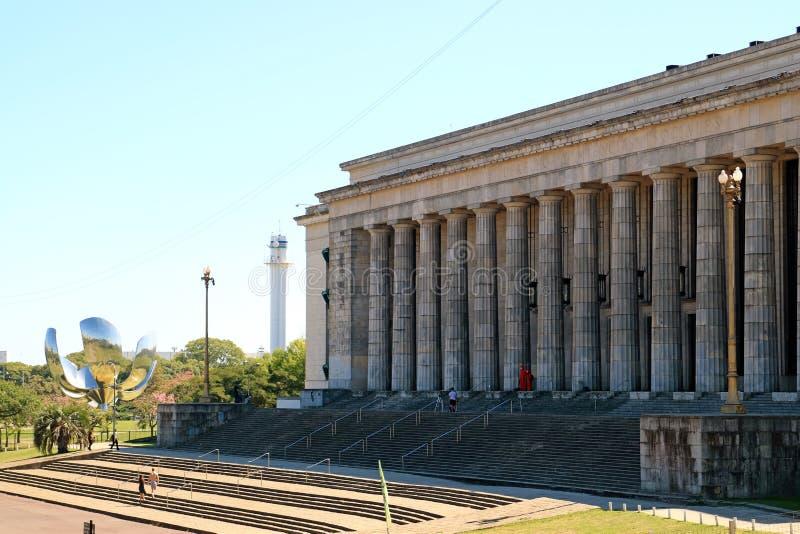 Neoklasyczny budynek uniwersytet Buenos Aires fakultet prawo, Argentyna obraz royalty free