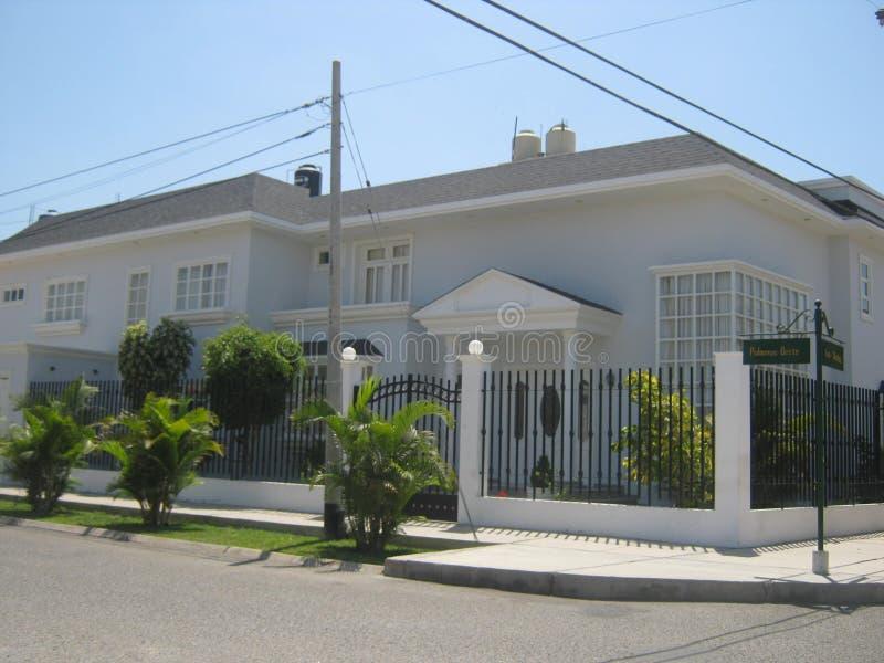 Neoklasyczny dom zdjęcie stock