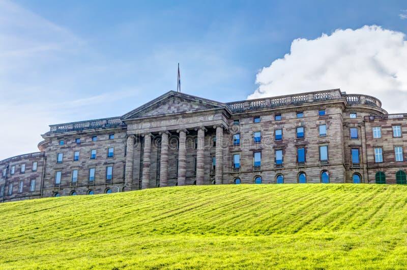 Neoklasyczny pałac w Kassel fotografia royalty free