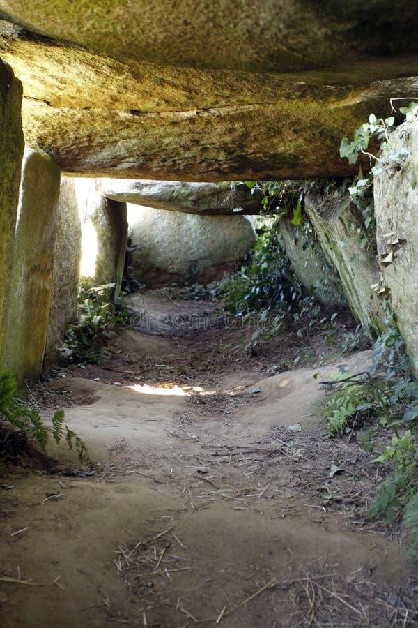 Neolityczny dolmen w Brittany zdjęcie royalty free