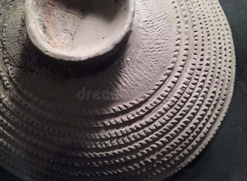 Neolityczny garncarstwo fotografia stock