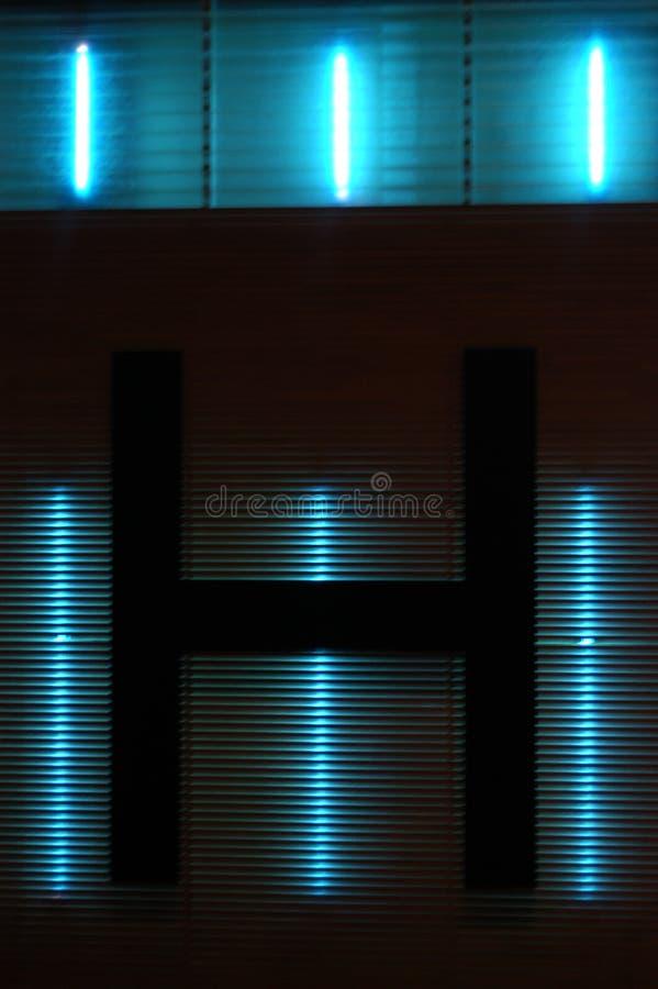 Neon royalty-vrije stock foto
