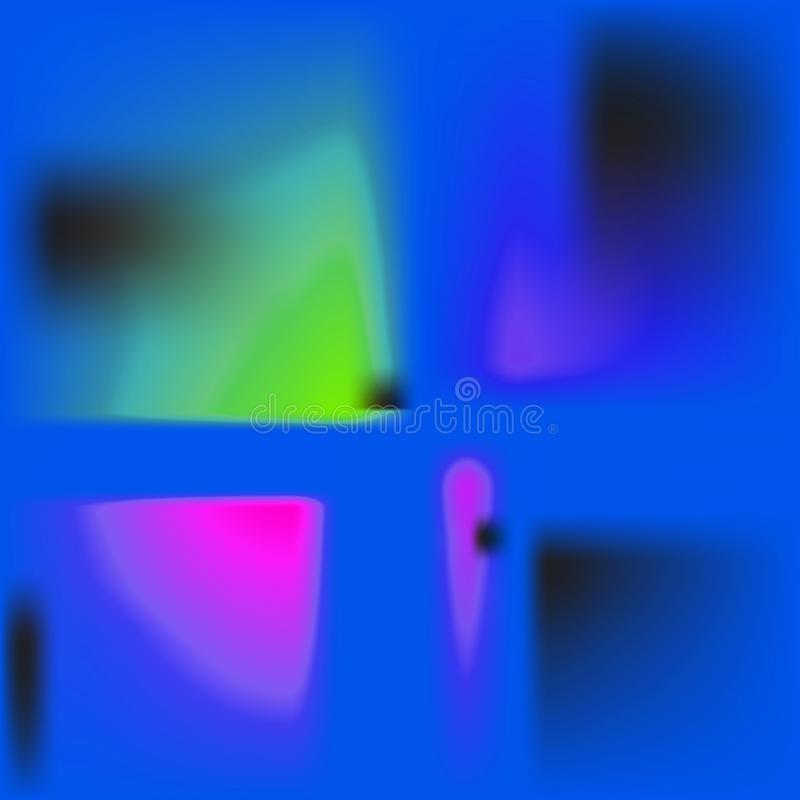 Neon bright conceptual contemporary background illustration vector illustration