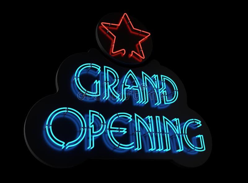 Download Neon Grand Opening II Stock Photos - Image: 26806243