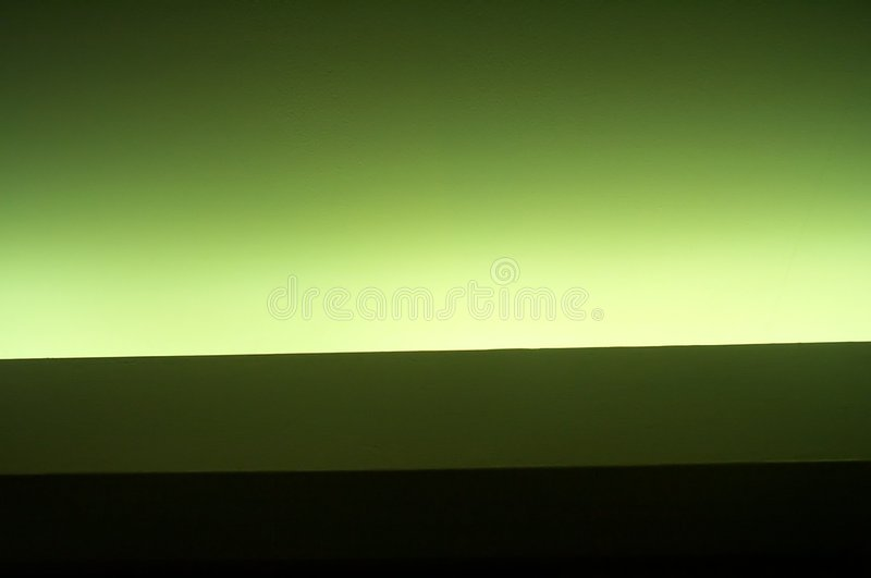 Neon green stock image