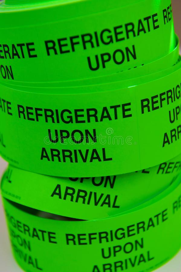 Neon Green Tape Roll stock images