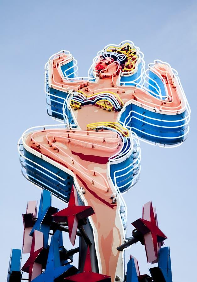 Neon a Las Vegas fotografia stock