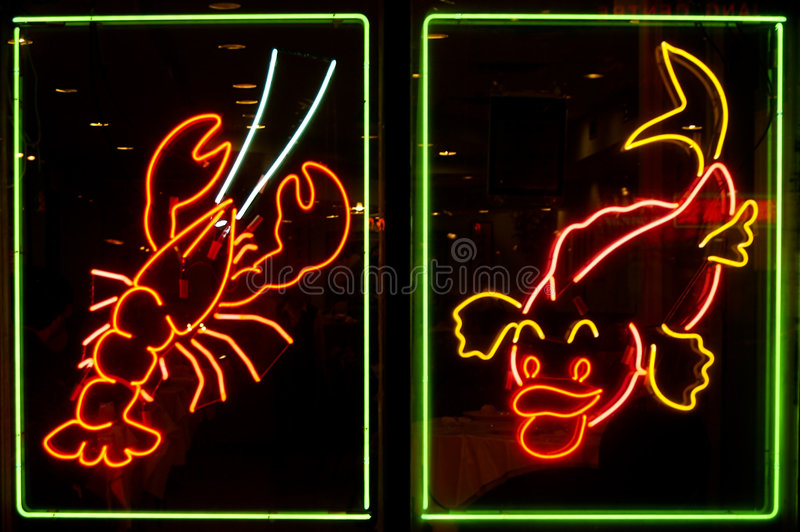 Neon Lights royalty free stock images