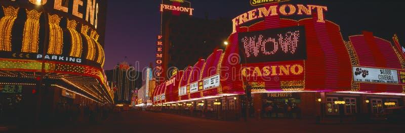 Neon Lights at Las Vegas stock photos