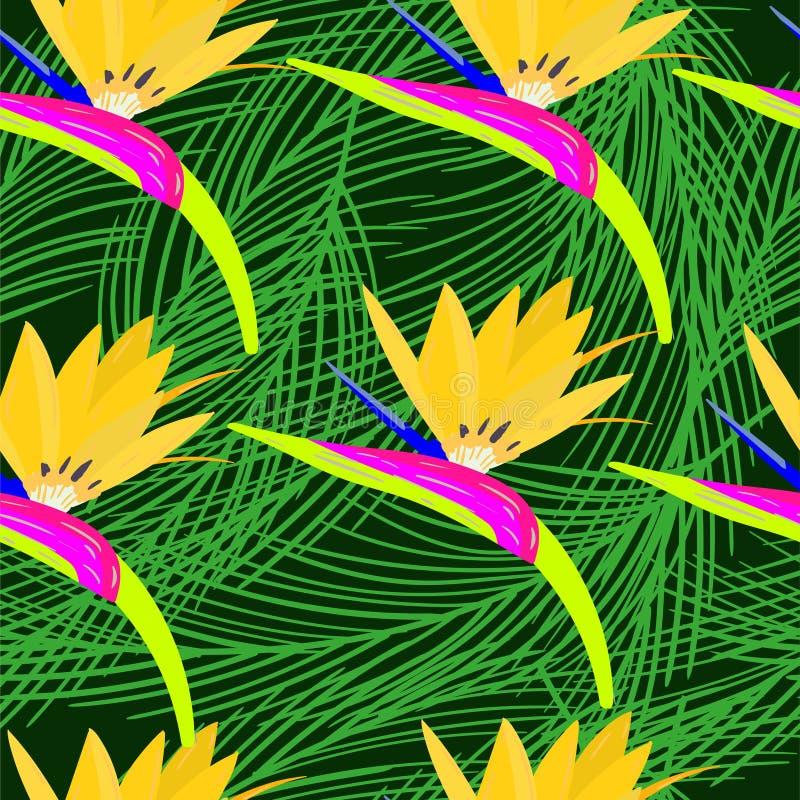 Neon Naadloos Patroon vector illustratie