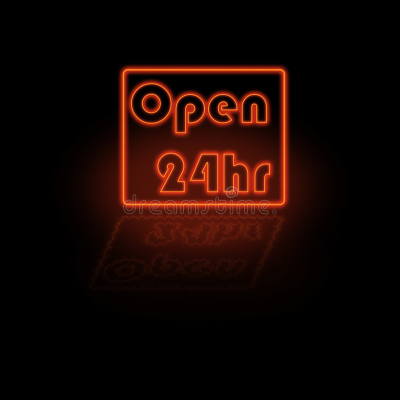 Free Neon Open Sign Royalty Free Stock Images - 2754839