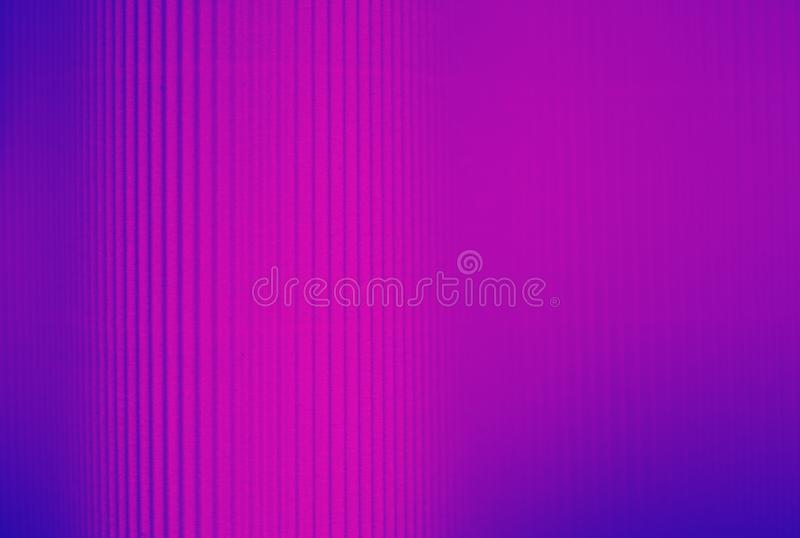 Neon purple and blue striped background made of paper royalty free stock photography