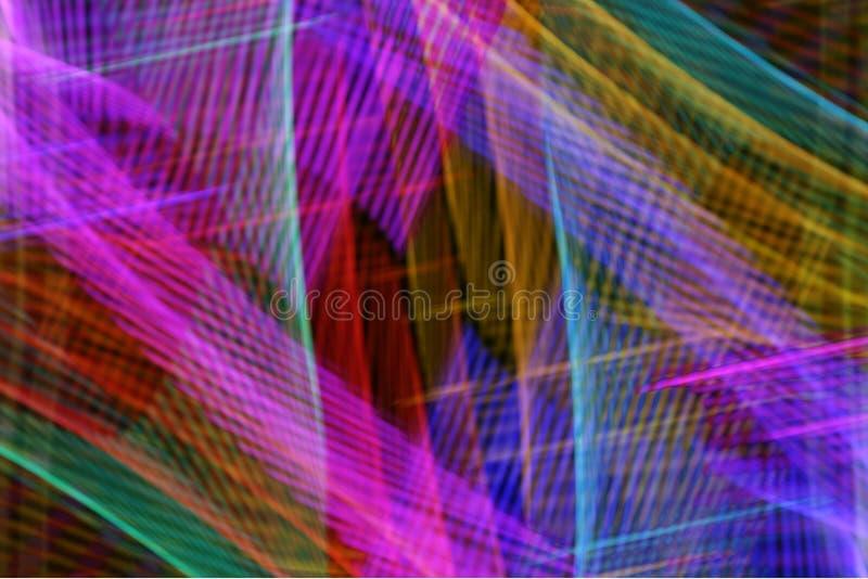 Neon rods stock photo