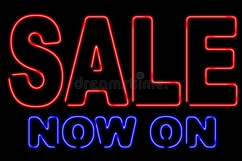 Neon sale royalty free stock images