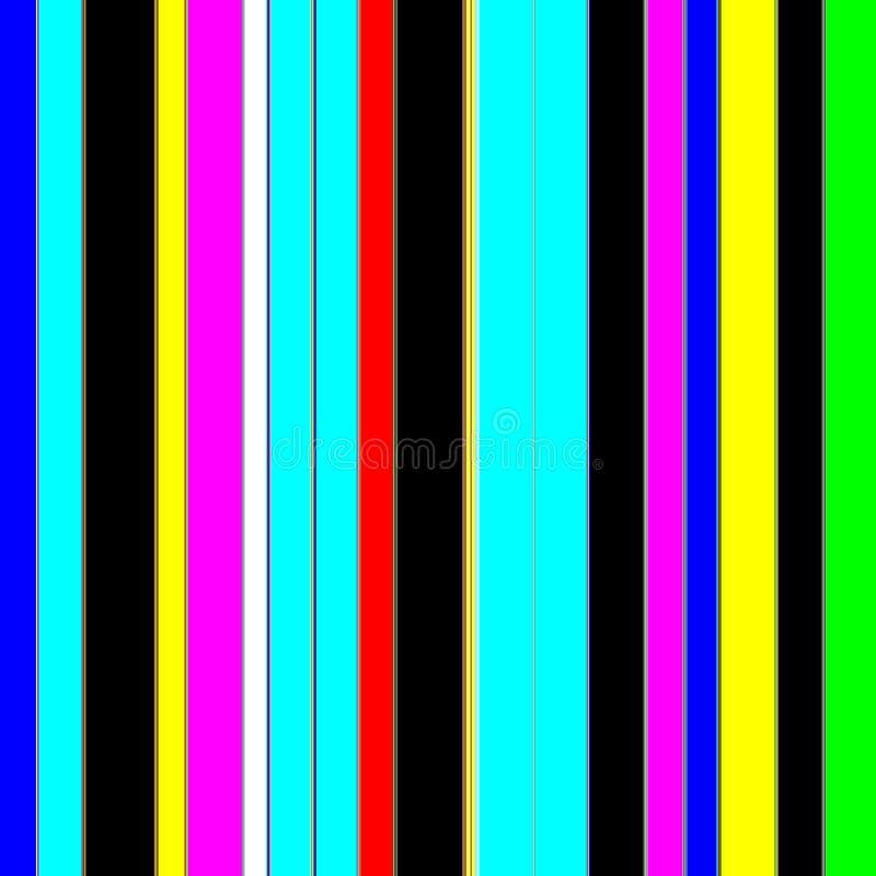Neon sterk fosforescerend tinten en patroon royalty-vrije illustratie