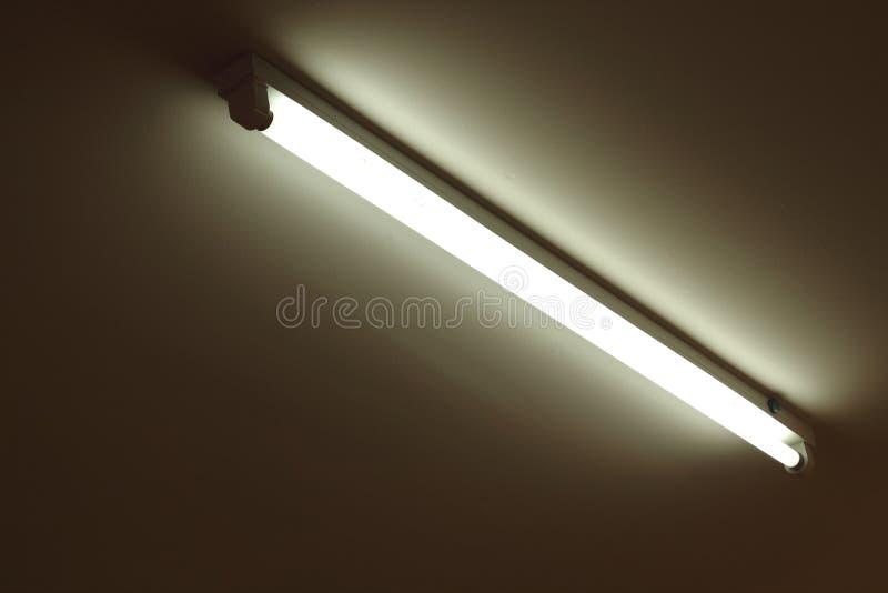 Neon tube light. The Neon tube light background royalty free stock photos