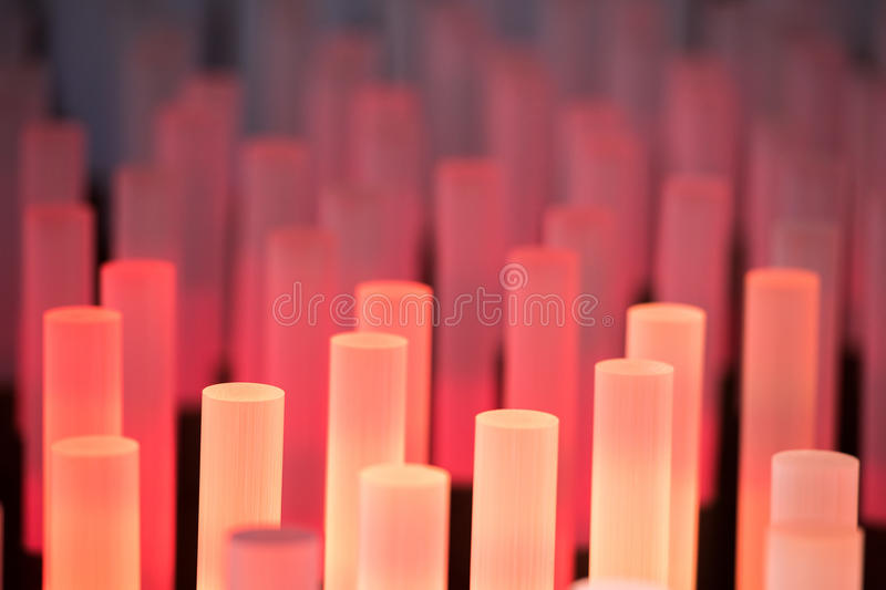 Neon tubes soft background texture stock images