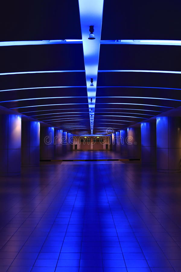 Download Neon tunnel stock image. Image of esplanade, tunnel, neon - 27815761