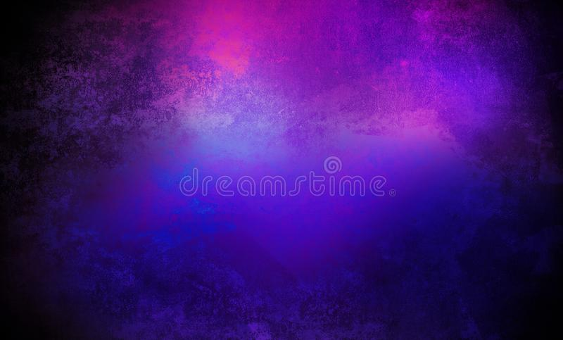 Neon wall background, night view, neon ornament vector illustration