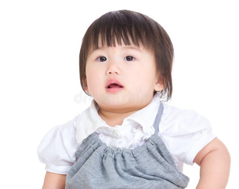 Neonata adorabile immagini stock