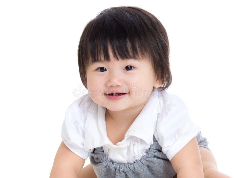 Neonata asiatica fotografie stock