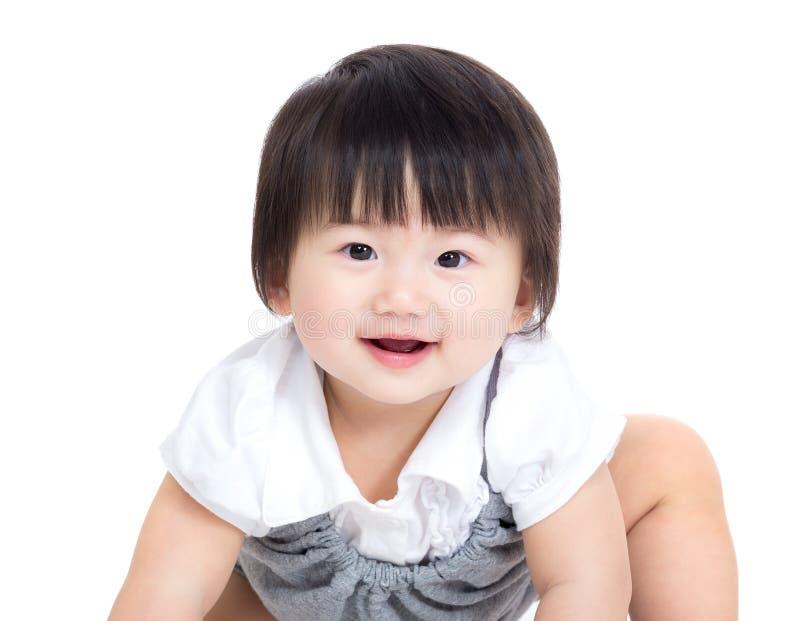 Neonata dell'Asia fotografia stock