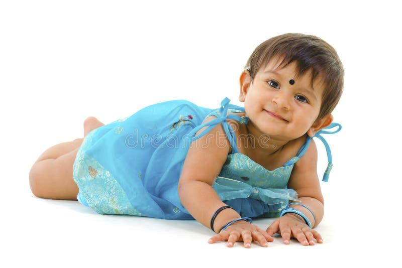 Neonata indiana fotografia stock