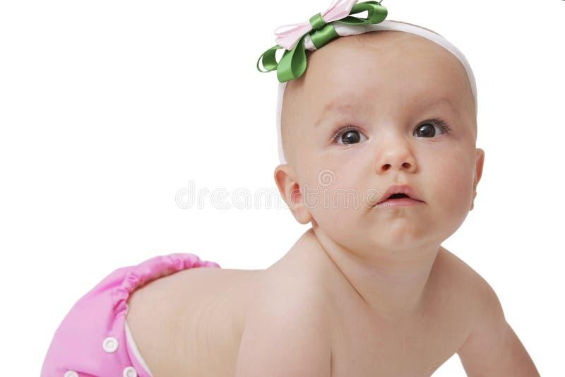 Download Neonata In Pannolino Del Panno Fotografia Stock - Immagine di infante, panno: 7305884