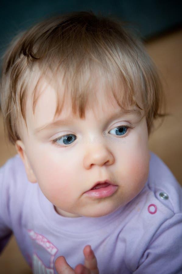 Neonata sveglia fotografia stock