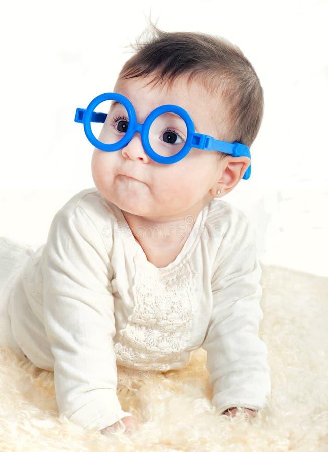 neonata in vetri immagine stock libera da diritti
