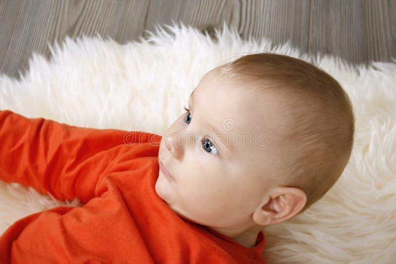Neonato adorabile immagine stock
