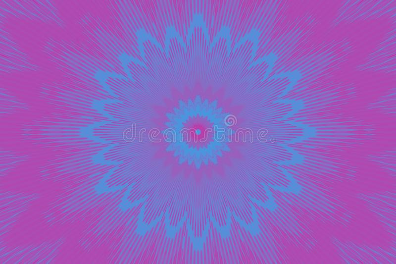 Neonblumenblume des ganz eigenh?ndig geschrieben Musters graphiken lizenzfreie abbildung