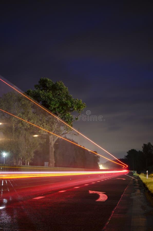 Neonhuvudväg arkivfoton