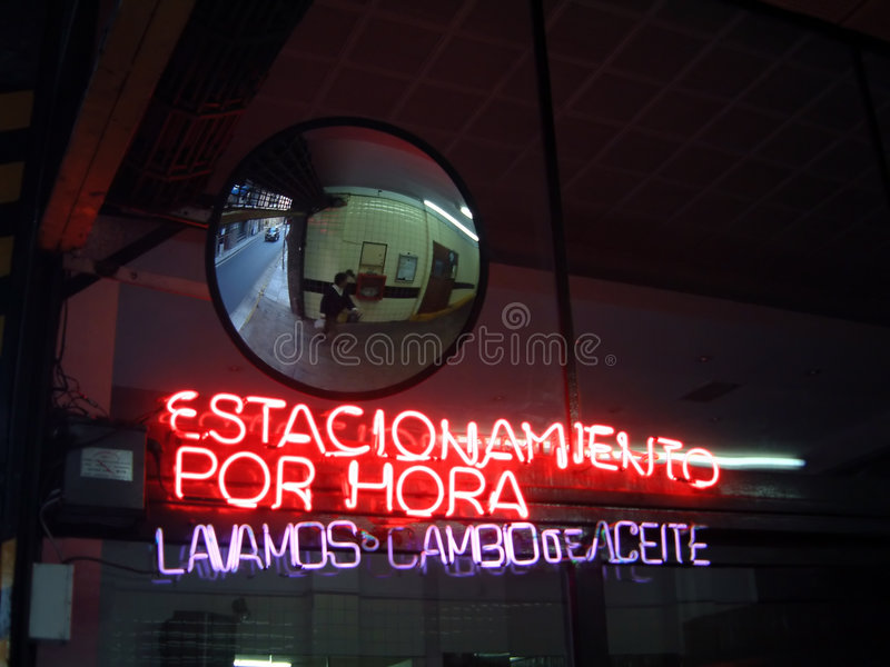 Neonleuchten lizenzfreies stockbild